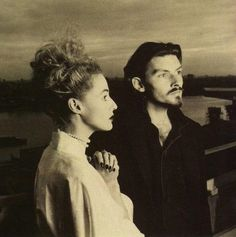 """Dead Can Dance Lisa Gerrard & Brendan Perry - """"I sing in the language of the Heart. It's an invented language that I've had for a very long time. I believe I started singing in it when I was about Lisa Gerrard Lisa Gerrard, Music Icon, Art Music, Dead Can Dance, Dance Dreams, Cinema, Clannad, Dance Photos, Dance Pictures"""