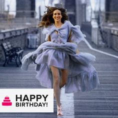 """#SJP      fashion editorials with celebs   The celebrity birthdays kept coming as we wished a """"happy birthday"""" to ..."""
