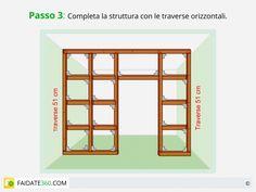 Parete in cartongesso passo 3 http://www.faidate360.com/Pareti_in_cartongesso.html