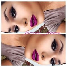 love the entire look especially the lip color!