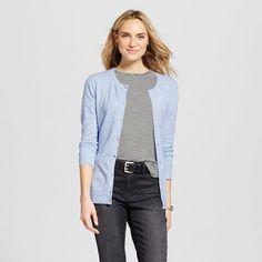 Women's Cardigans Airy Blue XS - Merona