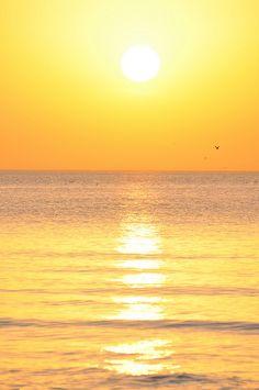 Sunset At Frishman's Beach, Tel Aviv, Israel
