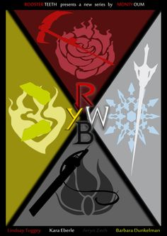 RWBY Movie Poster Contest - Entry #1 by ~Nathalie3264 on deviantART