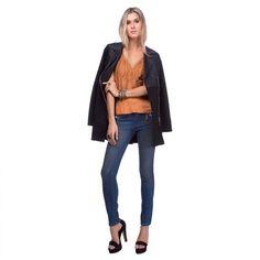 Maravilhoso ! sim ou não!!   Calça Jeans Detalhe Onça  COMPRE AGORA!  http://imaginariodamulher.com.br/look/?go=2cfqCtO #comprinhas