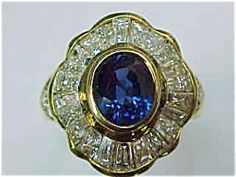 Diamond Sapphire Ring. Click the image for more information.