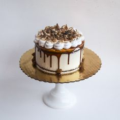 Pumpkin Caramel Party Cake