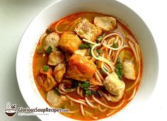 How To Make Meatball Noodle Soup