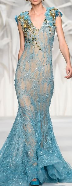 Abed Mahfouz Couture Fall-Winter 2013-2014 --<3<3