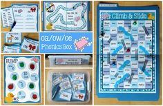 Activities for Teaching the oa/ow/oe Digraphs (Make, Take & Teach) Small Group Activities, Sorting Activities, Hands On Activities, Free Spelling Games, Words To Spell, Spelling Patterns, Reading Practice, Word Sorts, Old Games