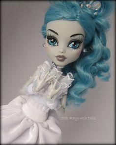 Frankie Stein as Cinderella. Monster High OOAK doll.
