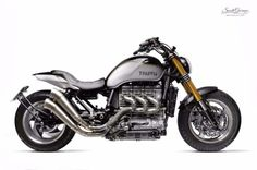 TRIUMPH ROCKET III 'NOSFERATU' ~ SOUTH GARAGE ~ OTTONERO