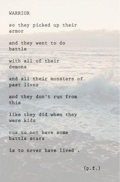 Warrior quotes