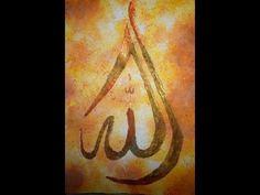 Create Beautiful Arabic Abstract Art - YouTube