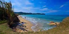 Пляж Ялу Corfu Beaches, Corfu Island, Most Beautiful Beaches, Sandy Beaches, Snorkeling, East Coast, Travel Guide, Scenery, Corfu Greece