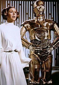 A New Hope: Leia & C3P0