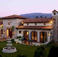 70 Most Popular Dream House Exterior Design Ideas is part of Modern architecture Facade House Plans - 70 Most Popular Dream House Exterior Design Ideas Hacienda Style Homes, Spanish Style Homes, Spanish Colonial, Spanish House Design, Mexican Style Homes, Style At Home, Mexico House, Design Exterior, Mediterranean Homes