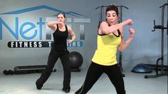 Awesome video, multiple skill levels, great cardio and strength workout. www.NetFit.tv - Kickboxing