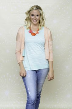 Do you love this bright, fun, casual outfit? There's a reason why. Find out your TYPE of beauty at http://dressingyourtruth.com