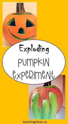 Kids will love this exploding, oozing pumpkin!  Fall science experiments for kids will keep kids engaged and excited.  A great way to get kids excited for fall!   #fallscience #fallscienceactivitiespreschool #fallscienceactivities #fallscienceexperiments #fallsciencepreschool #fallsciencforkids