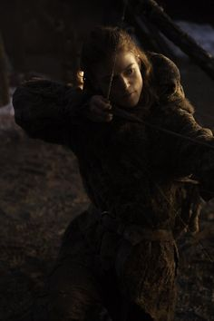 Ygritte (Rose Leslie) in 'Game Of Thrones' Season 4, Episode 9, 'The Watchers on The Wall'