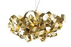 Fractal Round Chandelier by Brand Van Egmond Modern Light Fixtures, Modern Pendant Light, Pendant Lighting, Brass Pendant, Luxury Lighting, Custom Lighting, Modern Lighting, Round Chandelier, Modern Chandelier