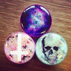 I would NEVER get plugs, but these have cool designs, hence, pinning.