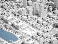 3d city by Konstantin Datz