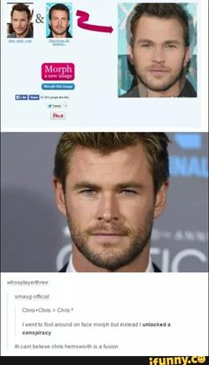 dead, chrispratt, chrishemsworth, chrisevans, christrinity