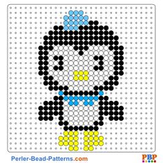 Octonauts perler bead pattern. Download a great collection of free PDF templates for your perler beads at perler-bead-patterns.com