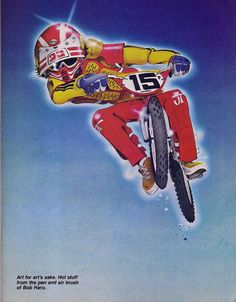 Page 2 of 2 - The offical Bob Haro artwork thread - posted in Riding, Research & Collecting: Bicycle Motocross Action, April 1980