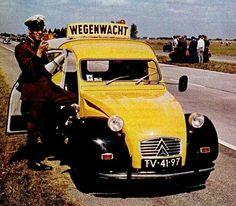 OG | Citroën 2CV AK 350 Fourgonnette / Van | #Wegenwacht #ANWB