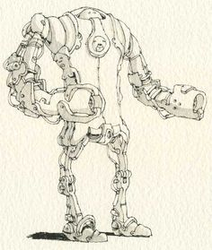 Robot week 5 by MattiasA on DeviantArt