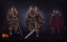 ArtStation - Skeleton Boss and . Armor Concept, Concept Art, Dungeons And Dragons Cartoon, Game Character, Character Design, Battle Chasers, Joe Madureira, Death Knight, Ajin Anime