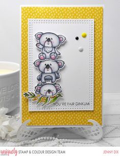 Hi Everyone I am Excited to be here with my second post for Uniquely Creative Stamp & Colour It is an Awesome Stamp and Colour . Boy Cards, Cute Cards, Color Kit, Colour, Handmade Tags, Scrapbook Pages, Scrapbooking, Creative Cards, Making Ideas