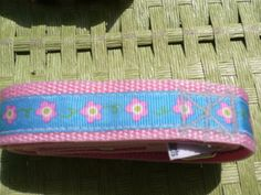 Get it while it's on sale!  Cute flower collar and leash set from Green Paw Products.