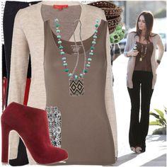 Megan Fox outfit Polyvore.com