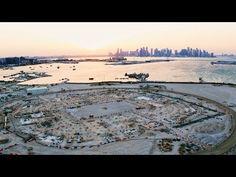 Ras Abu Aboud Stadium: The Progress So Far | Qatar 2022 | استاد راس أبو عبود: التقدم المحرز حتى الآن - YouTube Fifa World Cup, Beach, Water, Outdoor, Water Water, Outdoors, Aqua, Seaside, Outdoor Life