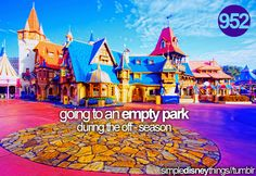 As a Floridian, I live for this! There's only a short time when the parks aren't crowded with tourists and snowbirds!