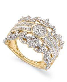 Vintage Crown Ring