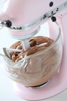 Caramel Chocolate Frosting. Here is a frosting recipe that doesn't use powdered sugar.