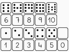 DESCRIPCIÓN: Actividad manipulativa para trabajar la identificación de los números, su asociación número – cantidad y las series de manera...