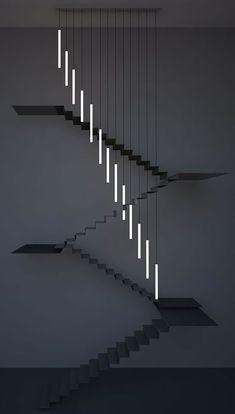 Moody Chandelier by Chiara Ferrari Studio. Bespoke chandelier for a residential…