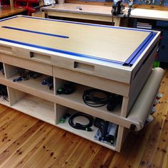 Clamp-Ready Workbench