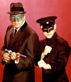 Van Williams as the Green Hornet, Bruce Lee as Kato