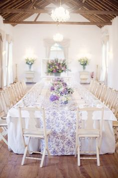 Portugal vineyard wedding with lavender accents