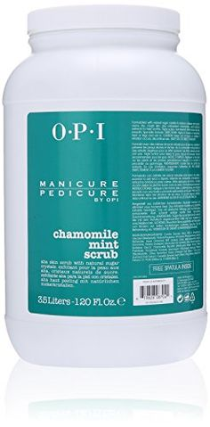 OPI Manicure Pedicure Scrub, Chamomile Mint , 120 Ounce OPI http://www.amazon.com/dp/B00EGY3TMC/ref=cm_sw_r_pi_dp_N7yKwb0NC58YX