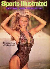 5264f6ab56ffa Christie Brinkly 1979 Sports Illustrated Swimsuit Edition -  www.sicovers.com February 5