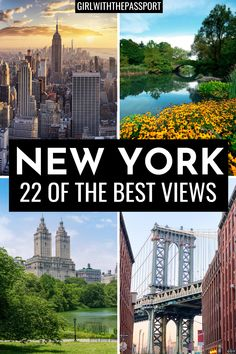 Visiting NYC but not sure where to find all of the best views in NYC? If so then this is the post for you! It's filled with secret local tips on where to find 22 of the best views in New York City. Plus, you'll get expert, NYC photography tips to help you take the best NYC photos ever. So, if you want a New York City guide that will help you see NYC like a local, then this is the post for you. Plus, get a BONUS, free map inside to help you plan the perfect NYC itinerary. #NewYorkTravel… New York City Guide, New York Travel Guide, Usa Travel Guide, New York City Travel, Nyc Itinerary, Visiting Nyc, Usa Culture, Culture Travel, Photography Tips