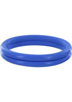 Buy Rudy Rings Silicone Cock Rings Blue online cheap. SALE! $8.49