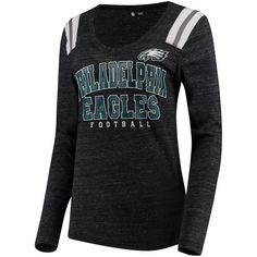 Philadelphia Eagles 5th  amp  Ocean by New Era Women s Tri-Blend Long Sleeve  V d8d2693b3